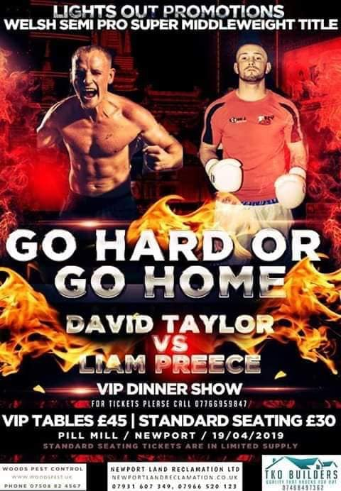 Go Hard or Go Home Boxing Event