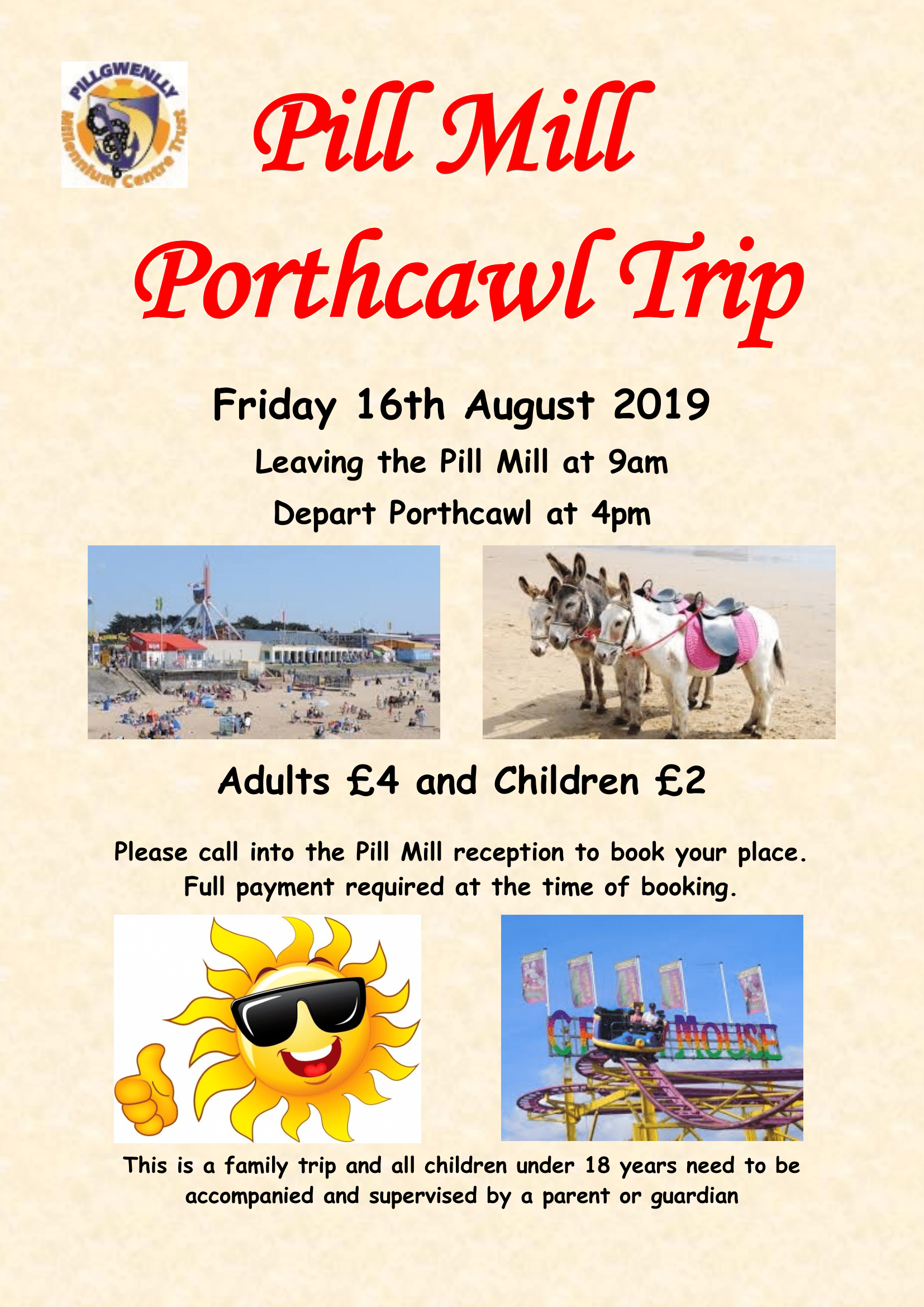 Trip to Porthcawl - SOLD OUT